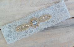 Gorgeous handmade bridal garter $17