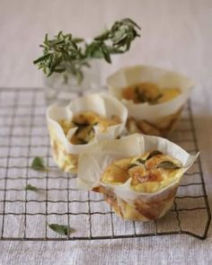 Three-cheese Frittatas: Great recipes and more at http://www.sweetpaulmag.com !! @Sweet Paul Magazine