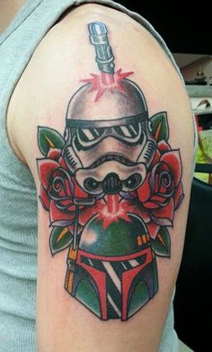 #Star-Wars #tattoo - Star Wars Traditional