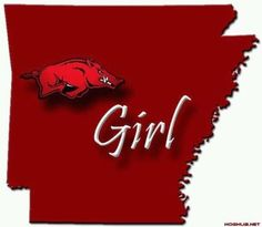 Arkansas Razorback Girl!