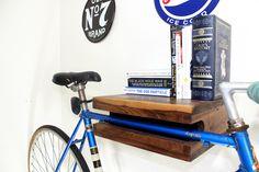 Elevate Bike Rack Walnut 14 by ElevateWoodworks on Etsy
