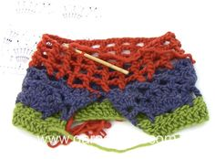 DROPS Crocheting Tutorial: How to work A.2 and A.3 A in DROPS 162-1