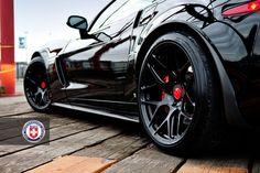 Corvette Z06 with P40SC in Satin Black