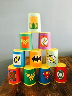 #superheroes #party #superhelden #feestje #blikgooien #games #birthday #verjaardag