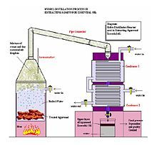 Hydro-Distillation process used to extract agarwood essential oils. Making Essential Oils, Essential Oil Scents, Essential Oil Perfume, Perfume Oils, Essential Oil Diffuser, How To Make Homemade Perfume, Basic Electrical Engineering, Perfume Recipes, Perfume Making