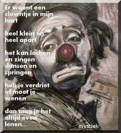 Er woont een clowntje in mijn hart ...