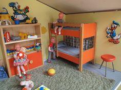 1966 Bodo Hennig Puppenhaus - Kinderzimmer   Flickr - Photo Sharing!