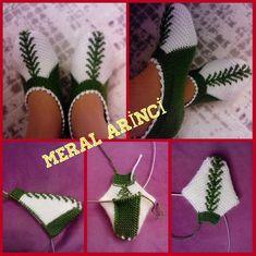 Crocodile Crocodile Pattern Construction y 55 modelos - Bailey Crochet Mittens Free Pattern, Knitted Slippers, Crochet Art, Crochet Slippers, Knit Or Crochet, Knitting Patterns, Crochet Patterns, Crochet Ripple, Tunisian Crochet