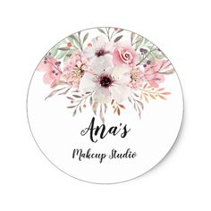 Watercolor Rustic Country Flowers Wedding Favor Classic Round Sticker Craft supplies Custom made gifts and DIY wedding ideas. Wedding Favors Cheap, Beach Wedding Favors, Wedding Pins, Wedding Ideas, Wedding Decor, Rustic Wedding, Elegant Wedding, Small Framed Mirrors, Gold Framed Mirror