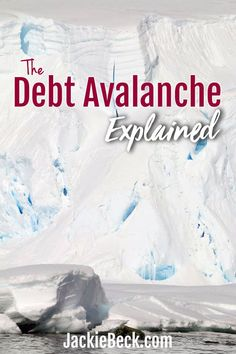 Wondering what the debt avalanche method is? Here's what it is, an why you might (or might not) want to use a debt avalanche to pay down your debt. Debt Repayment, Debt Payoff, Ways To Save Money, Money Saving Tips, Money Tips, Money Savers, Budgeting Tools, Paying Off Student Loans, Debt Snowball