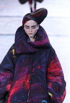 Yohji Yamamoto Fashion Show, Fall/Winter 2014