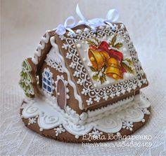 Gingerbread magic of Elena Bondarenko: Continued.