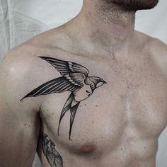 Swallow chest tattoo Tattoo by Miss Sita Follow on instagram @misssita #misssita #misssitatattoo #oneoninetattoo #109ttt #bcnttt #neroaddict #blackworkerssubmission #blackworkers_tattoo #blxckink #darkartists #blacktattoomag #tattoofull #blacktattoo #blackwork #swallowtattoo #onlythedarkest #swallow #onlyblackart #blacktattooart #tttism #btattooing #txttooing #radtattoos #iblackwork #barcelonatattoo #occultarcana #enmanierenoire #tattoodo #contemporarytattooing #blktt...
