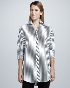 Go Silk Striped Big Shirt in {productContextTitle} from {brandTitle} on shop.CatalogSpree.com, your personal digital mall.