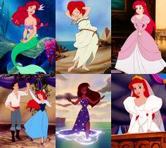 Ariel's wardrobe