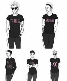 One Direction via Tumblr
