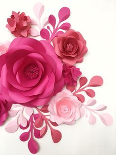 1000+ ideas about Paper Flower Wall on Pinterest | Paper Flowers ...
