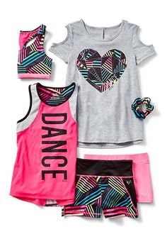 dance outfits for girls, christmas outfits for girls, tween boy. Kids Outfits Girls, Tween Girls, Girl Outfits, Fashion Outfits, Clothes For Girls, Tween Clothing, Sporty Outfits, Athletic Outfits, Summer Outfits