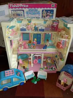 11 Best Fisher Price Vintage Dream Dollhouse 1990s Images 1990s