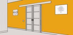 Межкомнатные раздвижные двери - цены, фото | Купить раздвижную дверь-купе в комнату, в ванную | Dveri.Vtapkah
