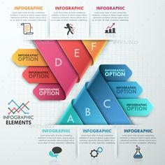 Modern Infographic Options Template #design Download: http://graphicriver.net/item/modern-infographic-options-template/10443841?ref=ksioks