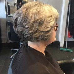 Best Short Layered Haircuts for Women Over The UnderCut Layered Haircuts For Women, Popular Short Haircuts, Asymmetrical Bob Haircuts, Short Bob Haircuts, Short Hair Cuts For Women, Short Hair Styles, Wavy Bob Hairstyles, Short Hairstyles For Women, Hairstyles 2016