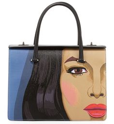 Art on Bags: A Bolder Take on the Prada Saffiano