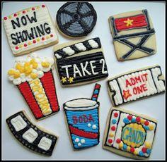 Movie cookies (Sweet Paisley Cookies)