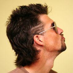 Medium-Length Mullet Haircut