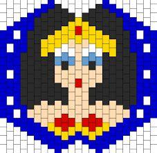 Resultado de imagen para captain america peyote bead