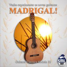 Bom dia! Guitarras clássicas Madrigal, encontra no Salão Musical de Lisboa. Venha experimentar! Este é o modelo 35 http://www.salaomusical.com/pt/cordas/2662-guitarra-classica-madrigal-35-cedro-sapelly.html