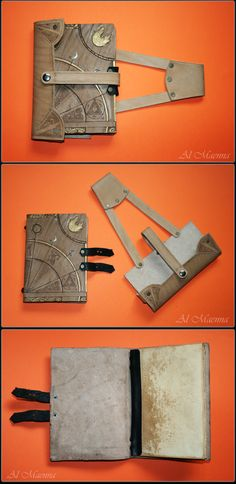 "Shattan on deviantART made this really slick ""Travelling Spell Book""."