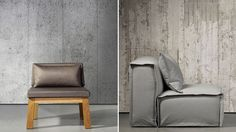 Concrete Wallpaper Perfects That Cozy Cold War Bunker Look
