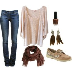 outfits that go with sperrys
