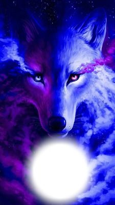 Animal Wallpaper for Android Cell iPhone - Anime Wolf Artwork Lobo, Wolf Artwork, Cute Fantasy Creatures, Mythical Creatures Art, Wolf Wallpaper, Animal Wallpaper, Tree Wallpaper, Iphone Wallpaper, Galaxy Wallpaper