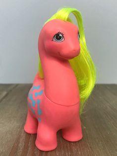 1987 Hasbro My Little Pony Friends Cutesaurus Dinosaur Used W/ Box G1