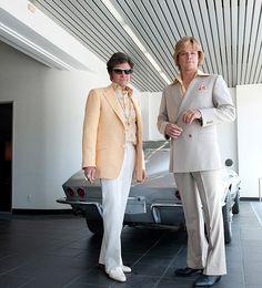 Fake lovers: Behind The Candelabra stars Michael Douglas and Matt Damon play Liberace and Scott Thorson