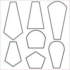 12 Piece Dresden Plate Template to print, Wedge is 5 in