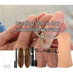 """Wanting him to buy you infinity jewerly ∞"" by eas623 on Polyvore"