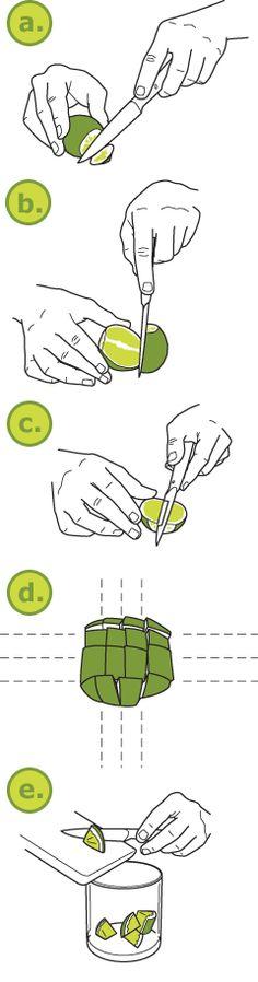 How to make a Caipirinha