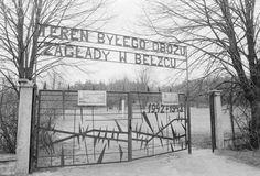 Front Gate at Belzec Extermination Camp