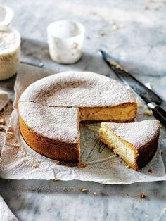 lemon and vanilla ricotta cheesecake Food photography, food styling, learn food food photography