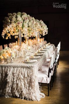 Wedding table décor always needs to be lovely enough to make your guest feel the joy and warmth of being invited to a celebration. Usually wedding tables need to be decorated with bright, beautiful...