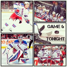 Game 6 TONIGHT: LET'S GO RANGERS! @NHL