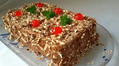 Tort de biscuiți cu cremă de ciocolată – cel mai ușor tort pentru o zi de sărbătoare! - Retete Usoare