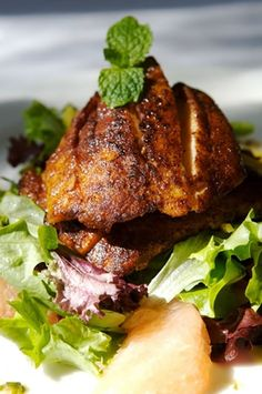 Blackened Swordfish with Mixed Spices | Recipe Publishing Network