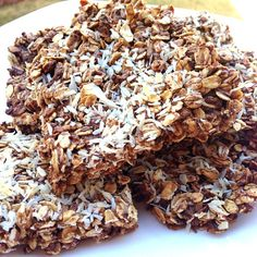 Coconut Protein Bars 218 calories, clean