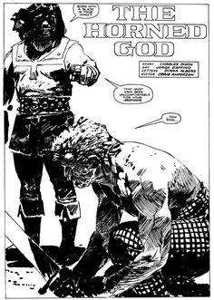 Hunka!! Comics y dibujo: Jorge Zaffino