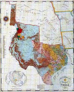 The Nation We Were 1836 Map Of The Republic Of Texas The