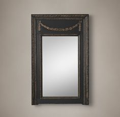 19Th C. Neoclassical Laurel Mirror